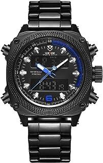 WEIDE WH7302 Quartz Digital Electronic Watch Dual Time Alarm Calendar Stopwatch 3ATM Waterproof Timer Business Men Fashion...