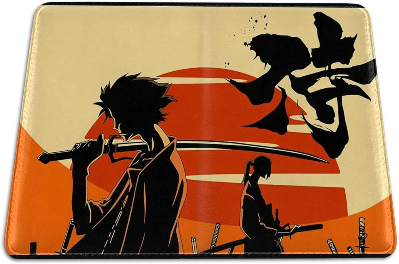 Samurai Champloo Outlet SALE Anime Passport Cover Holder With Card Wallet Price reduction Sl