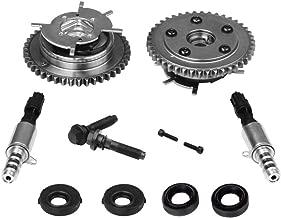 Variable Camshaft Timing Cam Phaser Kit - Replaces 3R2Z6A257DA, 917-250, 3L3Z 6279-DAP, 8L3Z-6M280-B - Fits Ford F-150, Expedition and more - Triton 5.4L, 4.6L 3V Engines - Sprockets, Bolts, Solenoids