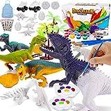 Magicfun Kit Pintura para Niños, Figuras Dinosaurios para Pintar, 36...