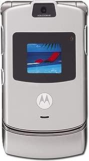 AT&T Motorola RAZR V3 No Contract Quad Band GSM Camera Cell Phone
