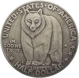 シルバーコインアンティークコレクション外国米国1936ハーフセント銀のドルの真鍮銀は銀のコインを記念貨幣をコピーメッキ