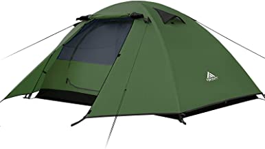 Forceatt 2-4 Person Camping Tent, Professional Waterproof & Windproof & Pest Proof. Lightweight Backpacking Tent Suitable ...