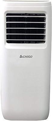 CHIGO 6,000 BTU Portable AC with MyTemp Remote Control, 6000, White