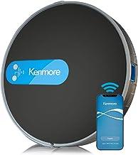 "Kenmore 31510 Robot Vacuum Cleaner 1800Pa Suction 3"" Slim Quiet Self-Charging Robotic Vacuum with Stair Sensor,Spot Cleani..."