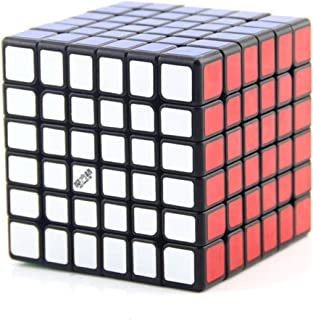Hastighetskub, pusselkub, 6 x 6 magisk hastighet kub lätt att vrida och smidigt spel, 3D magisk kub snurrande pussel med l...