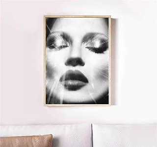 Print Art POSTER CANVAS Kate Moss #2