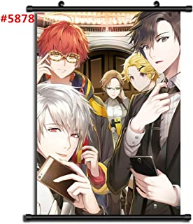 unbrand for Mystic Messenger Wall Poster Scroll Room Home Decoration Wall Art