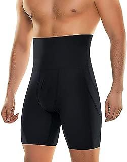 Men's Tummy Control Slimming Shorts High Waist Body Shaper Trimming Boxer Brief Stretch Pants Shapewear Abdomen