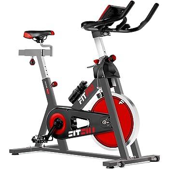 Bicicleta de Spinning Fitness Profesional Portátil Completa | 18kg ...