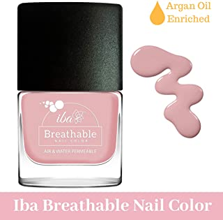 Iba Halal Care Breathable Nail Color, B02 Sweet Blush, 9ml