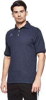 Kappa Short Sleeved Polo Shirt For Men Navy Blue