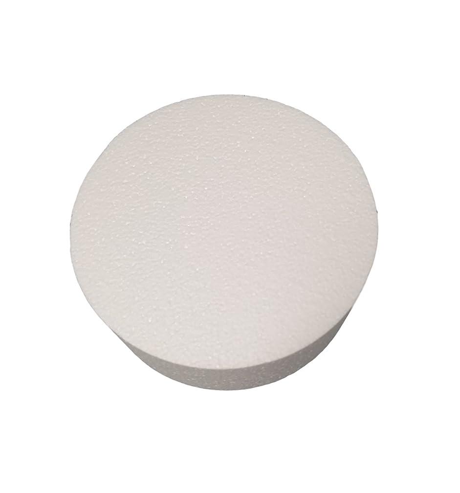 MT Products 3 inch High Round Craft Foam Cake Dummy (2 Pieces) (8