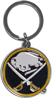 Siskiyou NHL Chrome and Enameled Key Chain