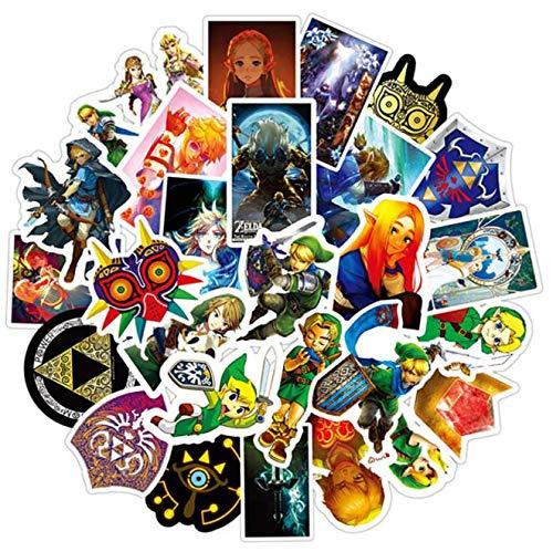 HUNSHA Zelda Waterproof Suitcase Suitcase Graffiti Stickers 50Pcs