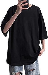 Winwinus Men's Loose Casual T Shirts Half Sleeve Summer Blouse Top