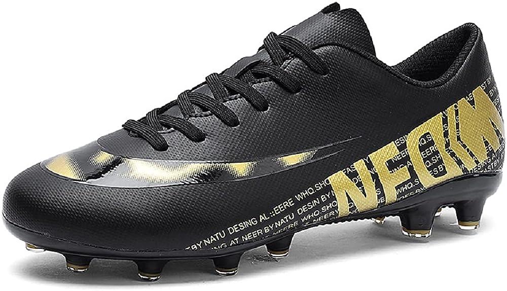 Foture 4.1 Netfit FG AG Athletic Soccer Shoes XX 17.2 Firm Ground Cleats Soccer Shoe (U.S. Size 4-9)