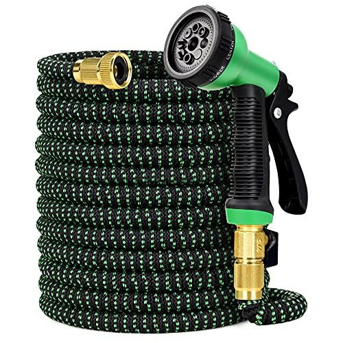 Sotor 100FT Garden Hose with 8 Different...