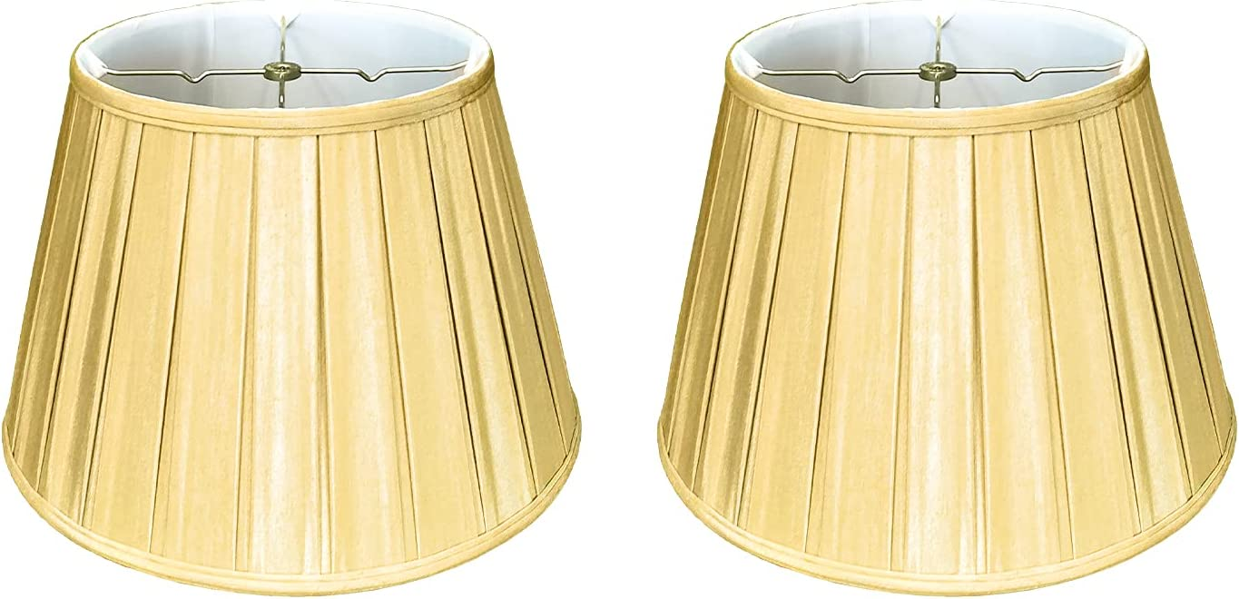 Royal Designs Empire English Pleat Gol Lamp Antique In stock OFFer Shade Basic