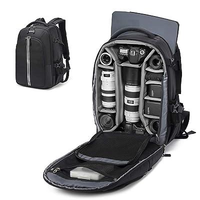Abonnyc Camera Backpack Fit 2 Pro-Sized DSLR/SL...