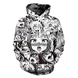 King Fury Hoodies Hoodies Sweatshirt Autumn Winter Men's Long Sleeve Pullovers 3d Print Tracksuit Plus Size