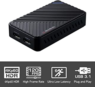 AVerMedia Live Gamer Ultra GC553 [ 4K]パススルー対応 ゲームキャプチャーボックス Full HD 1080p 60fps usb3.1 Ultra-Low[Latency] [グローバルバージョン輸入品] (GC553)