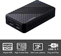 AVerMedia Live Gamer Ultra, Capturadora de vídeo y de streaming USB3.1, pass-through 4KP60hdr, muy débil latence, ENREGISTRE hasta 120fps (gc553)