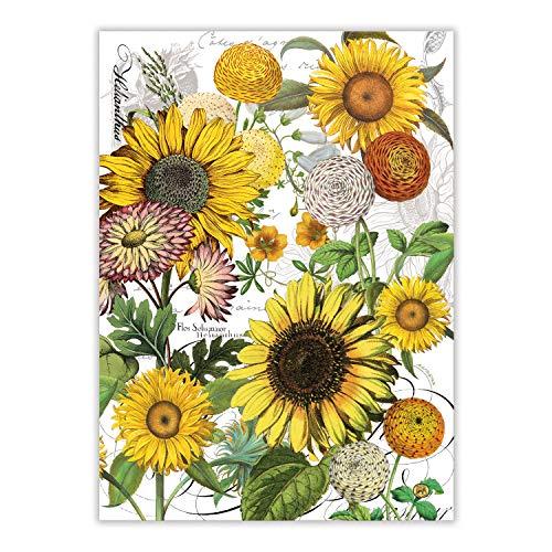Michel Design Works Kitchen Towel  Sunflower