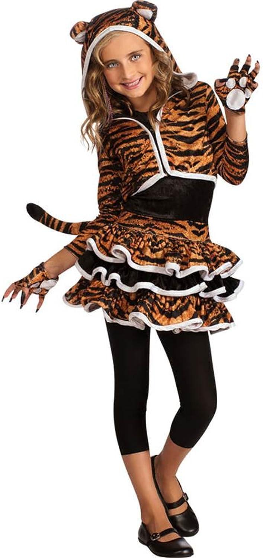 Big Girls' Tigress Hoodie Medium by Rubie's B0097TG25M Moderne Technologie  | Authentisch