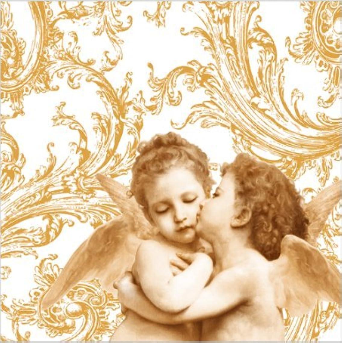 シルク趣味債権者PAW ポーランド製 ペーパーナプキン 天使