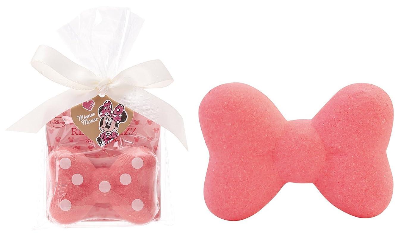 マンハッタンにおい羊飼いディズニー 入浴剤 ミニーマウス リボン バスフィズ 30g ロマンスローズの香り DIP-82-01