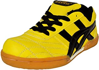Livia Spots Roewe LR-2021 Boys Badminton Shoes(Yellow)