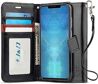 comprar comparacion J&D Compatible para Huawei Mate 20 Pro Funda, Protección de Cartera Soporte Plegable Funda Pesada Resistentes Billeter...