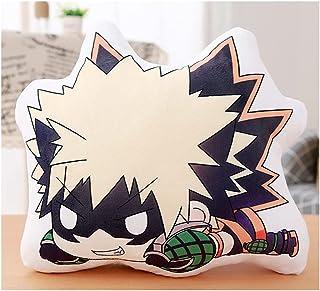 """18"""" Anime Plushies My Hero Academia Bakugou Katsuki Plush Pillow MHA Bakugo Plushie Pillows Cushion Home Decor (Bakugou Ka..."""