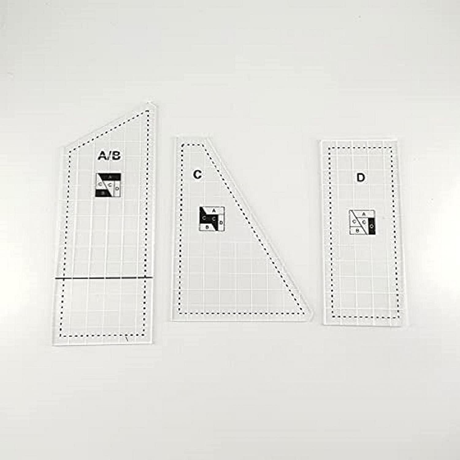 Creative Quilting Cutting Template New item - rulers and templat SALENEW very popular!