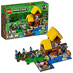Lego Minecraft The Farm Cottage Building Kit