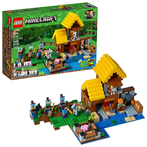 LEGO 21144 Baukasten Minecraft The Farm Cottage (549 Teile)