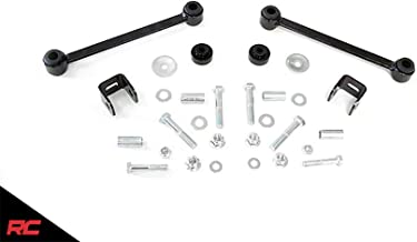 Rough Country Front Sway Bar Links (fits) 1980-1997 Super Duty F250 (F-250) F350 (F-350) 1022