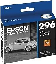 Cartucho de Tinta, Epson T296120-BR, Preto