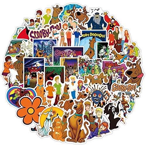 WOCAO Pegatinas de Dibujos Animados de películas para Coches, Motocicletas, Muebles, Juguetes para niños, calcomanía, Equipaje, patinetas, Caja 50 unids/Pack