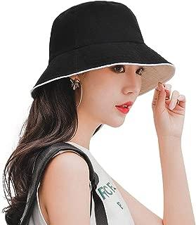 Women Sun Hats Wide Brim Big Bowknot Elegant Summer Beach Cap UPF 50+