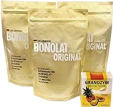 ボノラート600g×3袋(30g×60杯) & グラノザイムセット 無添加 乳プロテイン 置き換えシェイク & 酵素タブレット