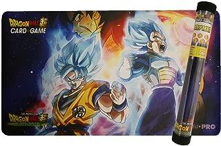 Official Dragon Ball Playmat - Vegeta, Goku, Broly