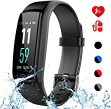 Mgaolo Fitness Tracker with Blood Pressure Heart Rate Sleep Monitor,IP68 Waterproof Activity Tracker Smart Watch with Pedometer Calorie Step Counter Compatible with iPhone and Android Phones