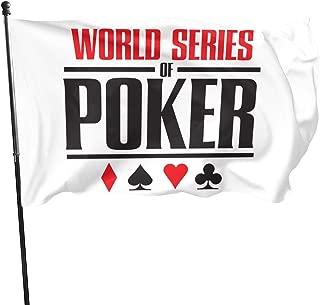 World Series of Poker 3x5 Feet Garden Flag