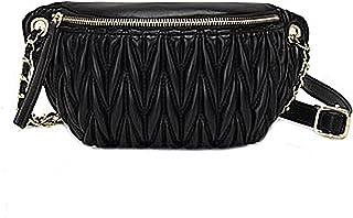 Sponsored Ad - Shoulder Waist Bag for Women Crossbody Fanny Packs Fashion Quilted Chest Bag for Ladies(Waist Crossbody Bag...