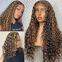 かつら レースフロント人間の髪の毛のウィッグのための女性ブラジルの聖母の髪の髪の体波13x4 gluelessレースのかつら (Color : 150%Density, Size : 18 Inch)