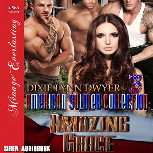 The American Soldier Collection 3: Amazing Grace audiobook cover art