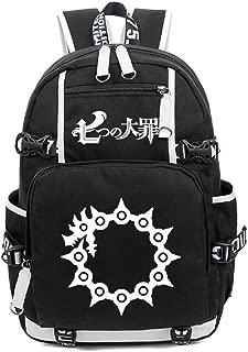Luminous Casual The Seven Deadly Sins Backpack Daypack Laptop Student Bag School Bag Rucksack Bookbag (3)