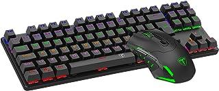 Kit Gamer Mouse e Teclado T-Dagger Advance Force T-TGS005